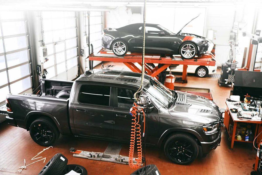 Berliner Werkstatt für US-amerikanische Autos