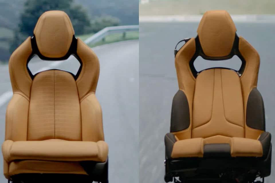 Eine neue Generation - die Corvette C8 competition sitz
