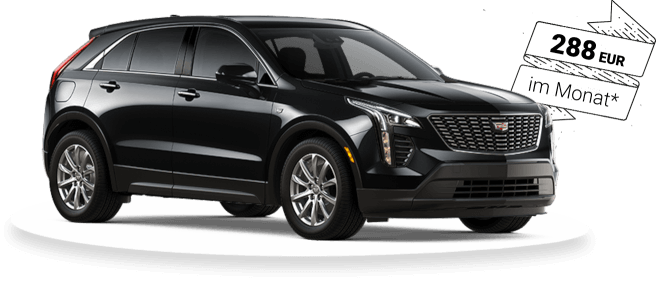 Cadillac XT4 special offer