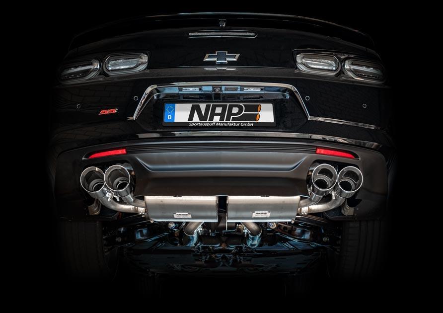 NAP-Sportauspuff nap exclusive exhaust chevrolet camaro web